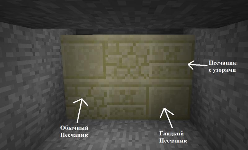 Блок - Песчаник - Блоки в MineCraft - Энциклопедия MineCraft