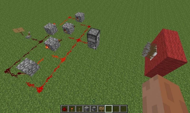 """Сиды Майнкрафт """" Моды и сервера Minecraft PE Ловушка с раздатчиком в minecraft"""