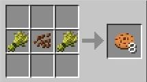 Как в minecraft сделать печенье