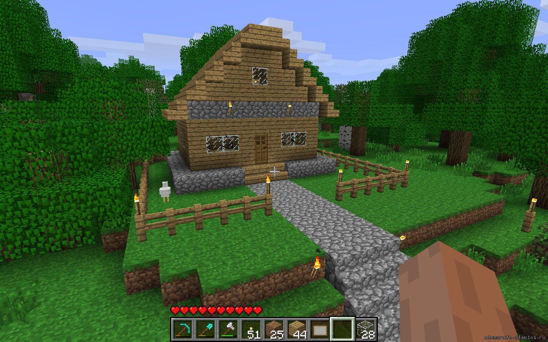 фото домик из лего
