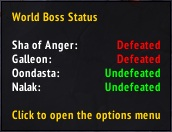World Boss Status (rus) 7.3.0